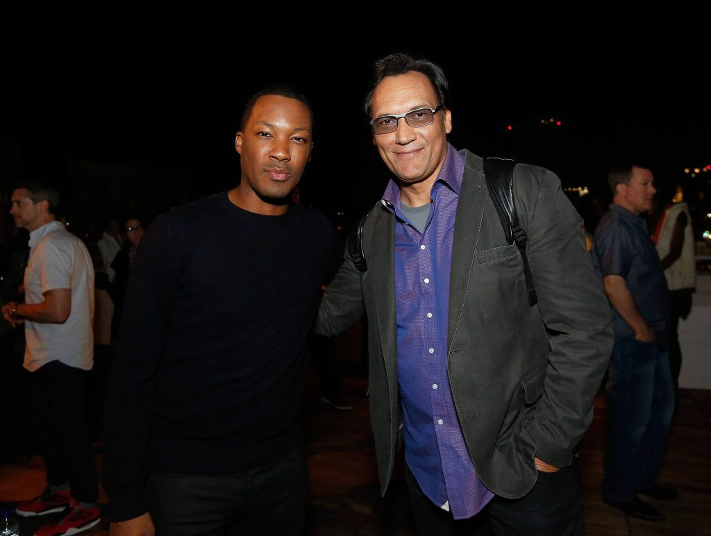 Corey Hawkins and Jimmy Smits at 24: Legacy Tastemaker Screening Reception in Los Angeles