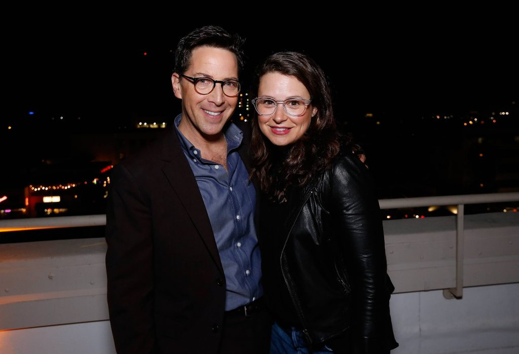 Dan Bucatinsky and Katie Lowes at 24: Legacy Tastemaker Screening Reception in Los Angeles