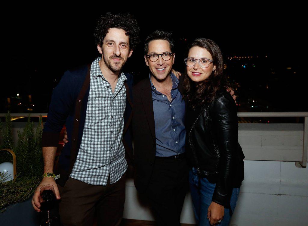 Dan Bucatinsky and Katie Lowes at 24: Legacy Tastemaker Screening Reception in Los Angeles