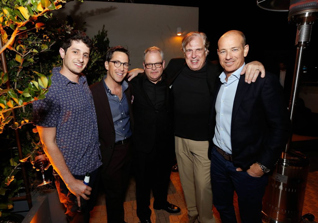 Dan Bucatinsky, Manny Coto, Howard Gordon, Robert Cochran at 24: Legacy Tastemaker Screening Reception in Los Angeles