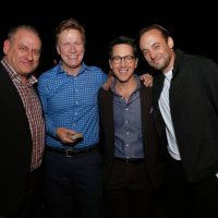 Evan Katz, Dan Bucatinsky, Charlie Hofheimer at 24: Legacy Tastemaker Screening Reception in Los Angeles