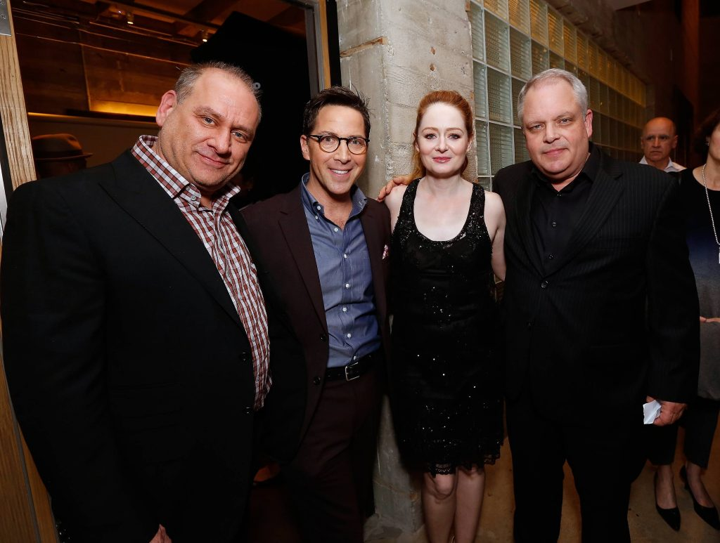 Evan Katz, Dan Bucatinsky, Miranda Otto, Manny Coto Evan Katz, Dan Bucatinsky, Charlie Hofheimer at 24: Legacy Tastemaker Screening Reception in Los Angeles