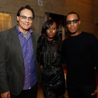 Jimmy Smits, Anna Diop, Corey Hawkins at 24: Legacy Tastemaker Screening Reception in Los Angeles