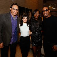 Jimmy Smits, Sheila Vand, Anna Diop, Corey Hawkins Jimmy Smits, Anna Diop, Corey Hawkins at 24: Legacy Tastemaker Screening Reception in Los Angeles