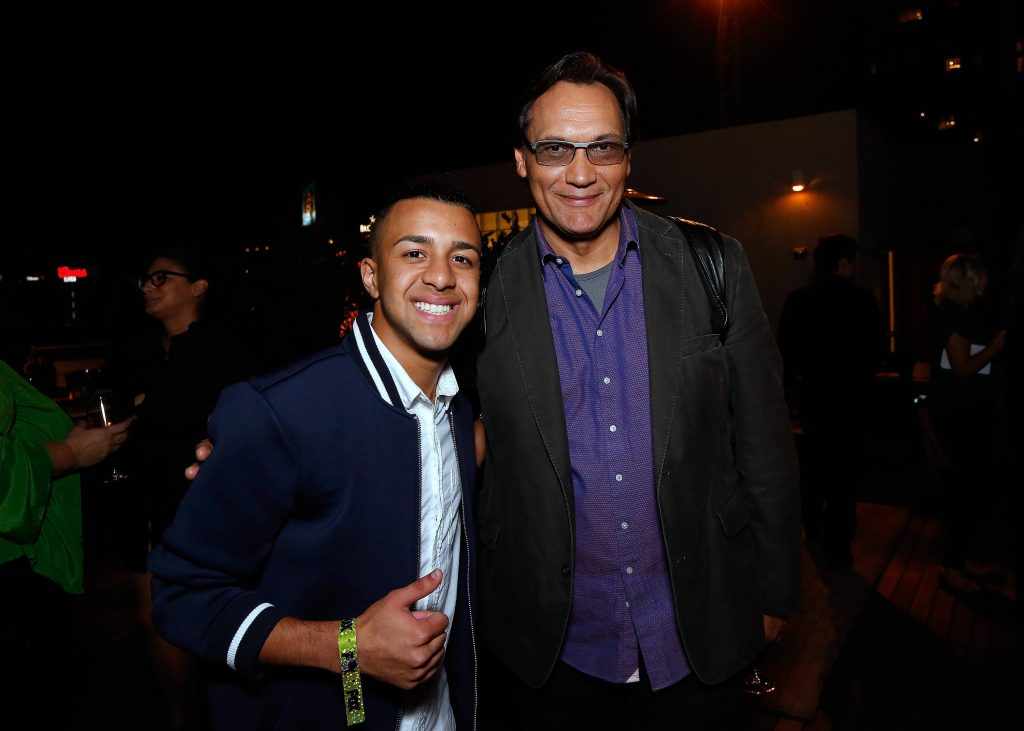 Miguelito and Jimmy Smits at 24: Legacy Tastemaker Screening Reception in Los Angeles