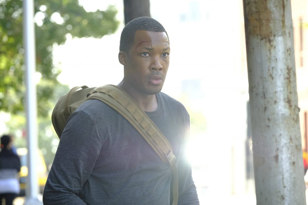 Corey Hawkins as Eric Carter in 24: Legacy Episode 2 - 005