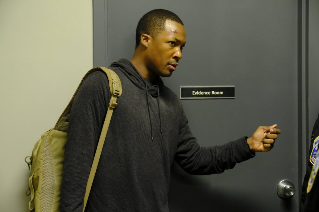 Corey Hawkins as Eric Carter in 24: Legacy Episode 2 - 007