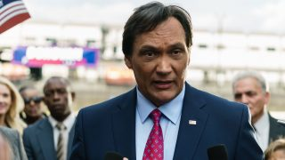 Jimmy Smits as Senator John Donovan in 24: Legacy Episode 2 - 002