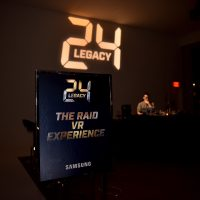 24: Legacy Red Carpet Premiere Screening in NYC - Raid VR Booth