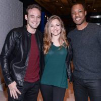 "Charlie Hofheimer, Shannon Lucio, and Corey Hawkins at FOX & Samsung ""24: Legacy"" Screening and Panel Discussion"