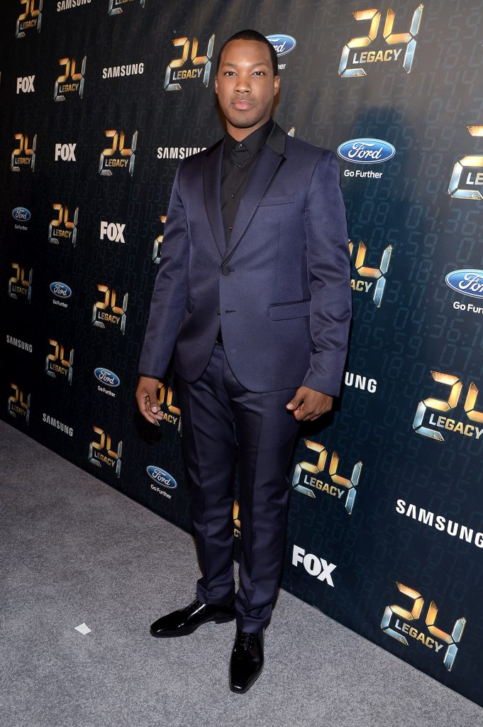 Corey Hawkins at 24: Legacy Screening in New York City