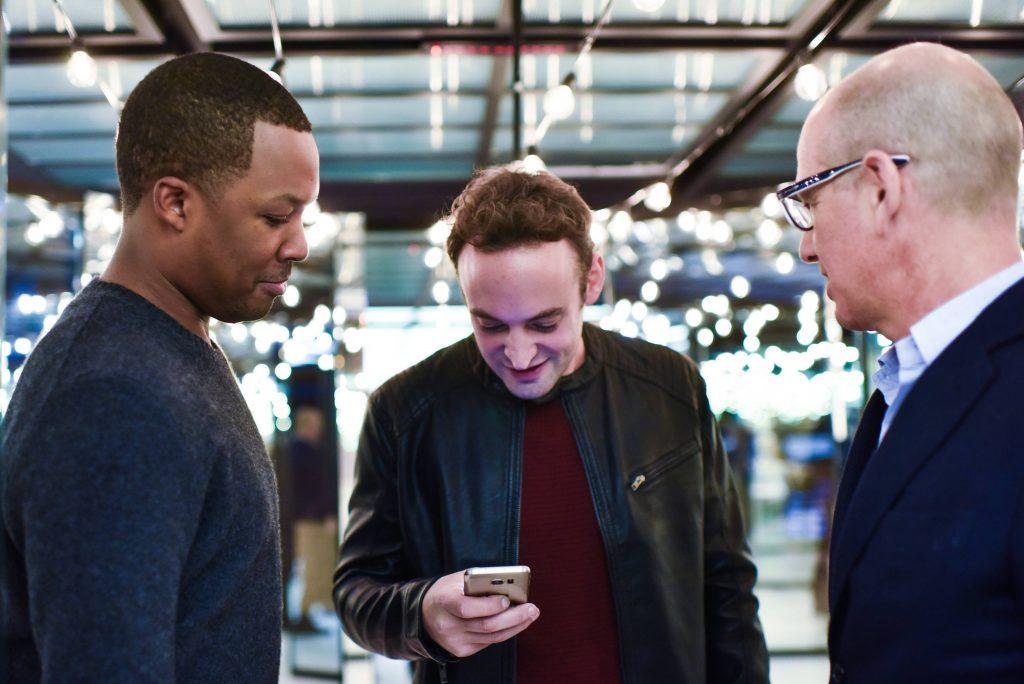 "Corey Hawkins, Charlie Hofheimer, Howard Gordon at FOX & Samsung ""24: Legacy"" Screening and Panel Discussion"
