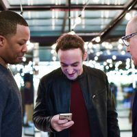 "Corey Hawkins, Charlie Hofheimer, Howard Gordon at FOX & Samsung ""24: Legacy"" Screening and Panel Discussion"