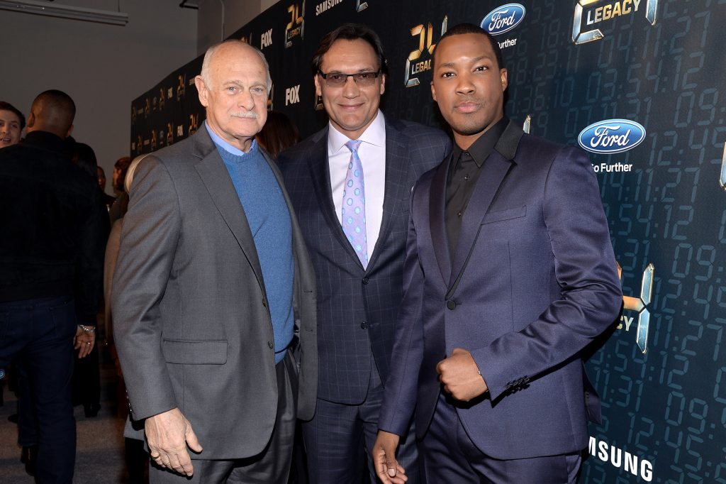 Gerald McRaney, Jimmy Smits, Corey Hawkins at 24: Legacy Premiere Screening in NYC