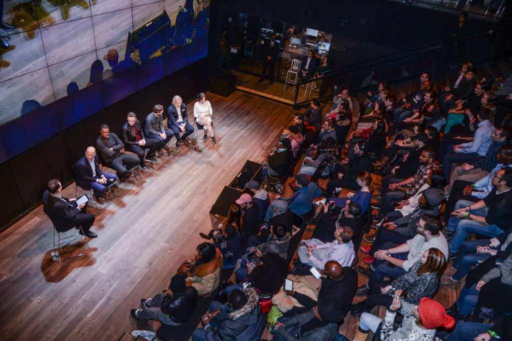 "Group Panel at FOX & Samsung ""24: Legacy"" Screening and Panel Discussion"