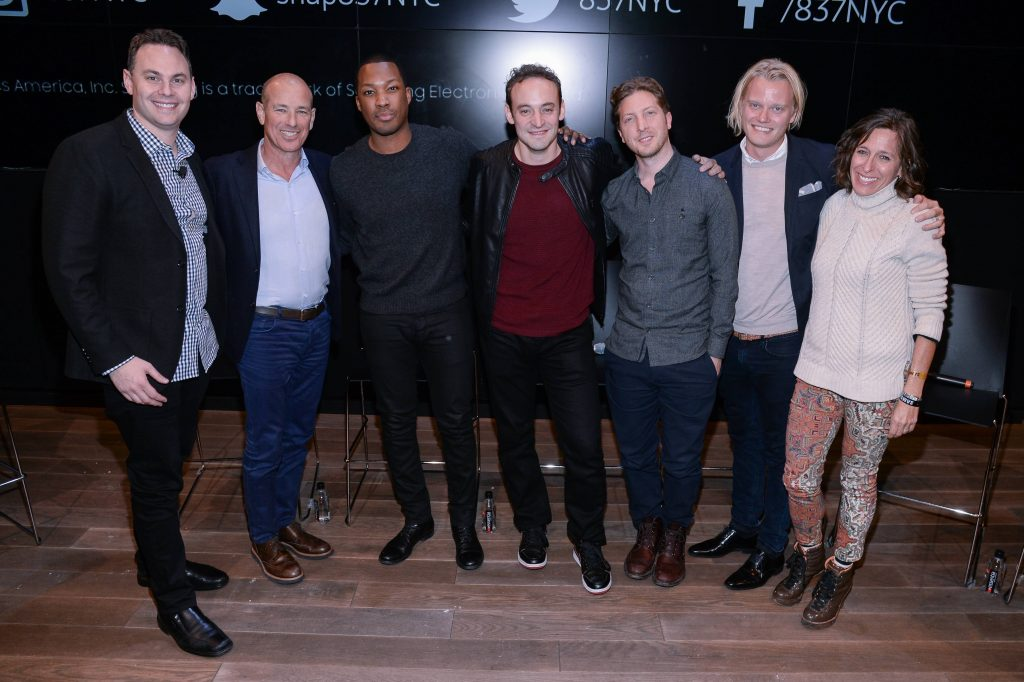 "Group Photo at FOX & Samsung ""24: Legacy"" Screening and Panel Discussion"
