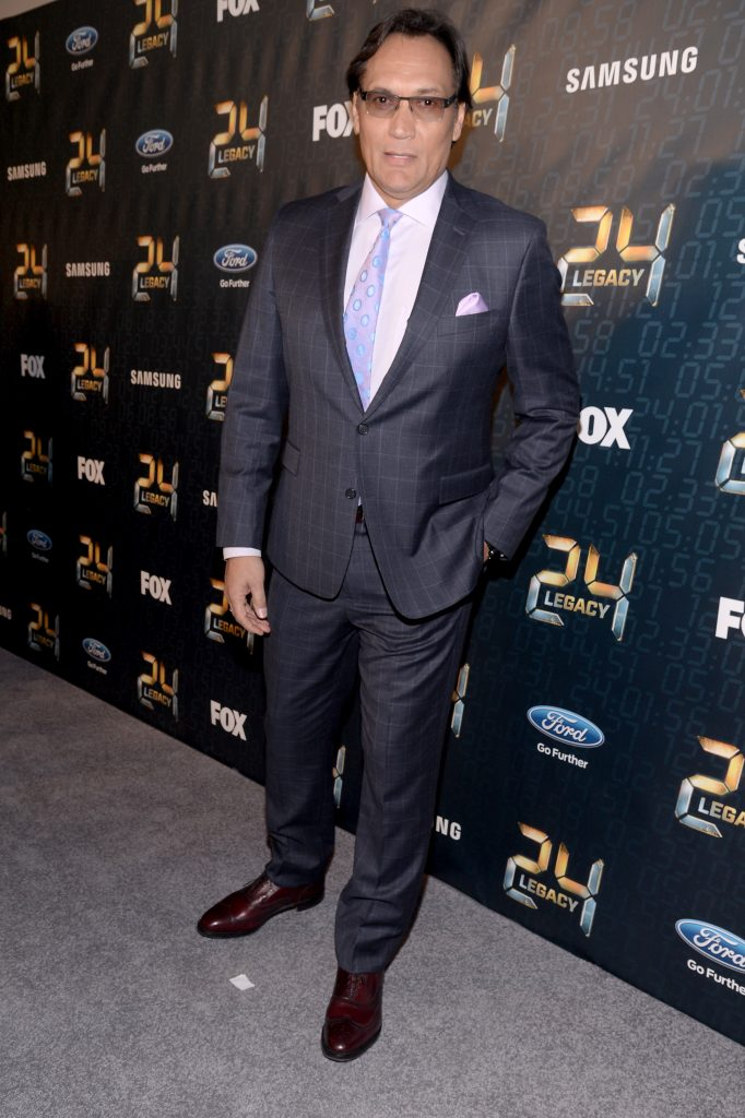 Jimmy Smits at 24: Legacy Premiere Screening in NYC