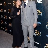 Sheila Vand and Charlie Hofheimer at 24: Legacy Premiere Screening Event in New York City