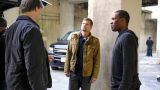 Agent Locke (Bailey Chase) and Eric Carter (Corey Hawkins) Prepare Mission in 24: Legacy Episode 3