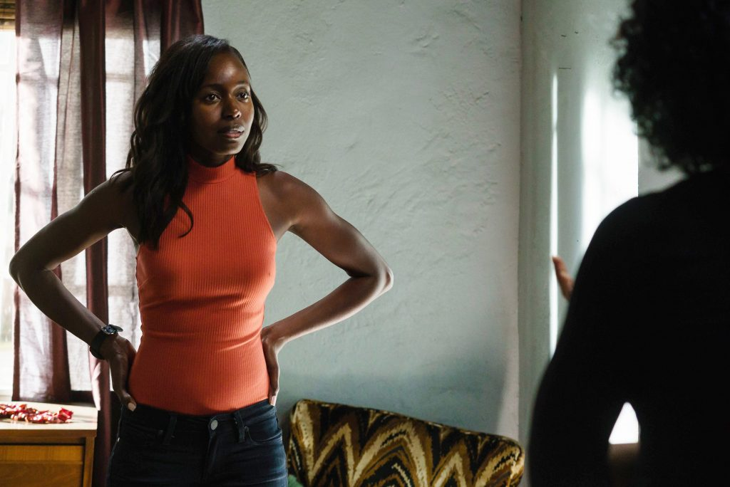 Nicole Carter (Anna Diop) in 24: Legacy Episode 3