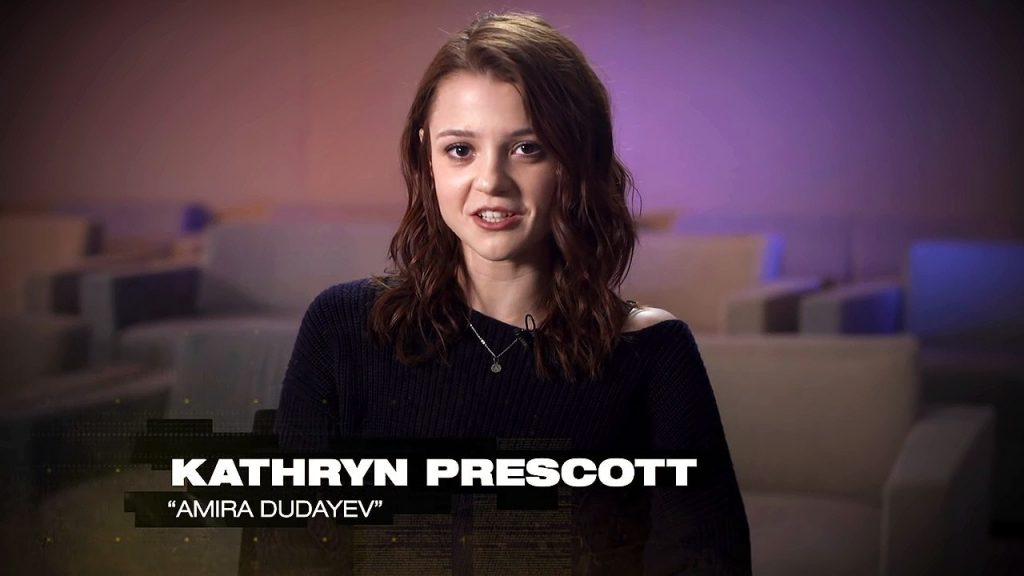 Amira Dudayev Character Spotlight - played by Kathryn Prescott in 24: Legacy