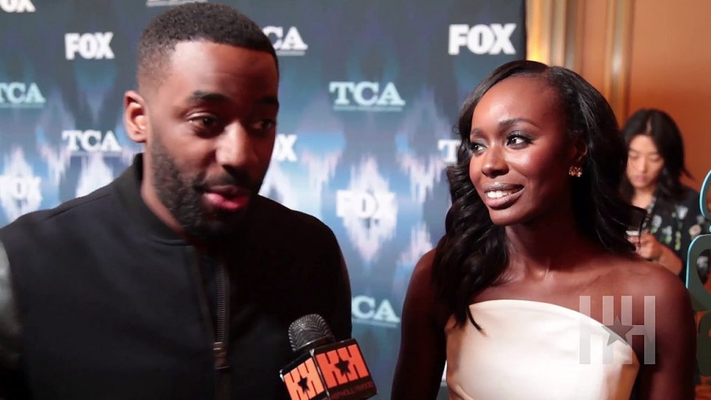 Ashley Thomas and Anna Diop on Hiphollywood
