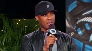 Corey Hawkins at Super Bowl LI