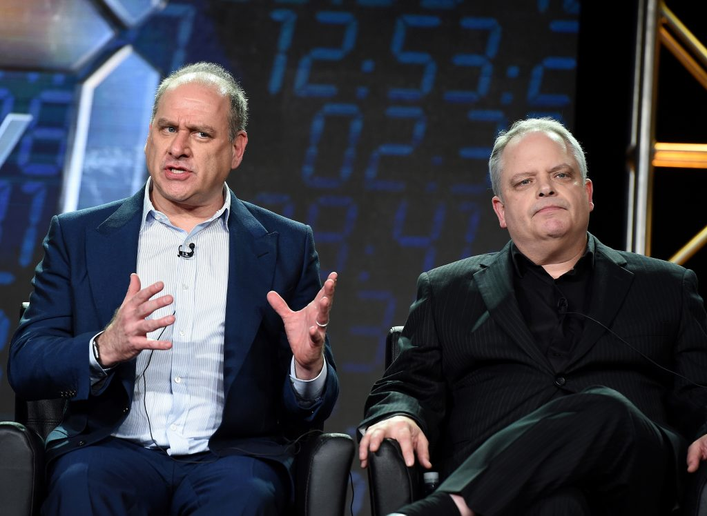 Executive Producers Evan Katz and Manny Coto at 24: Legacy Panel during FOX Winter TCA 2017