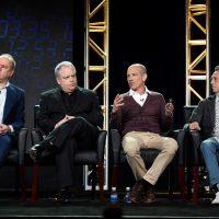 Creators/Executive Producers Evan Katz and Manny Coto and Executive Producers Howard Gordon and Brian Grazer at 24: Legacy Panel FOX TCA