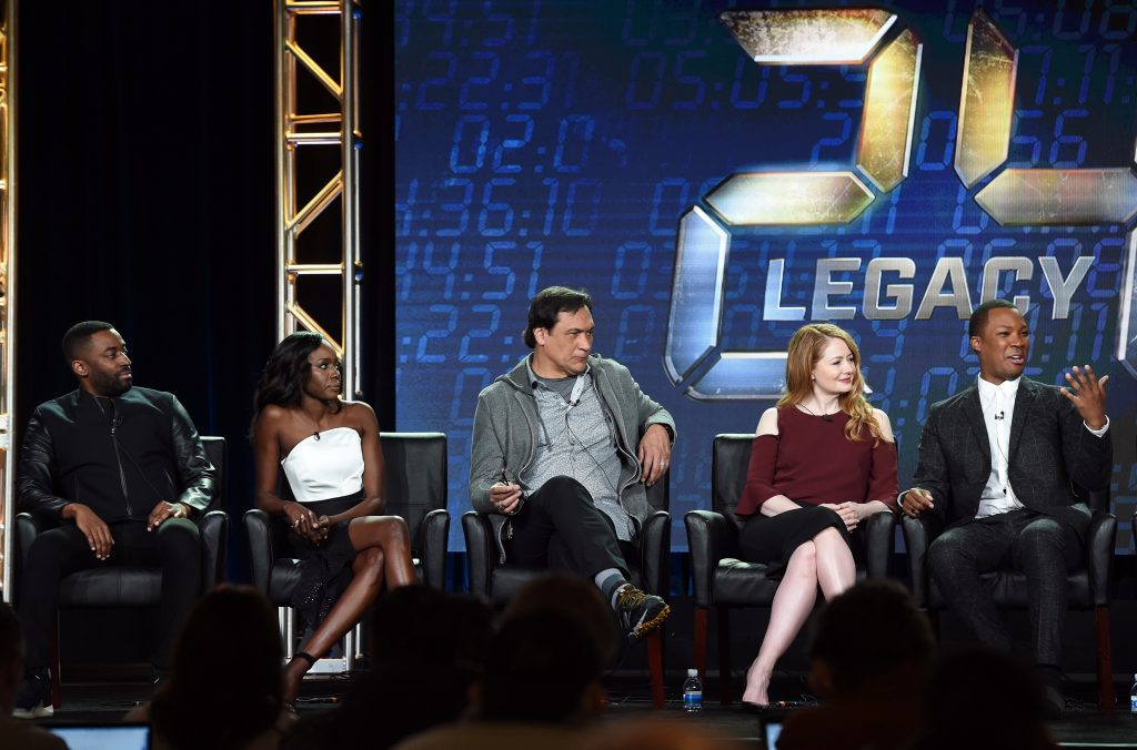 24: Legacy Cast Members at 24: Legacy Panel FOX TCA 2017