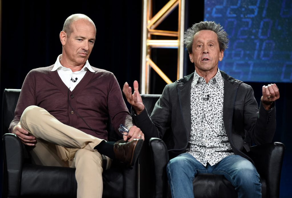 Howard Gordon and Brian Grazer at 24: Legacy Panel, FOX Winter TCA 2017