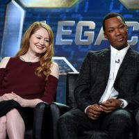 Miranda Otto and Corey Hawkins at 24: Legacy Panel during FOX Winter TCA 2017