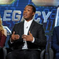 Miranda Otto, Corey Hawkins, Producer Evan Katz at 24: Legacy Panel during FOX Winter TCA 2017