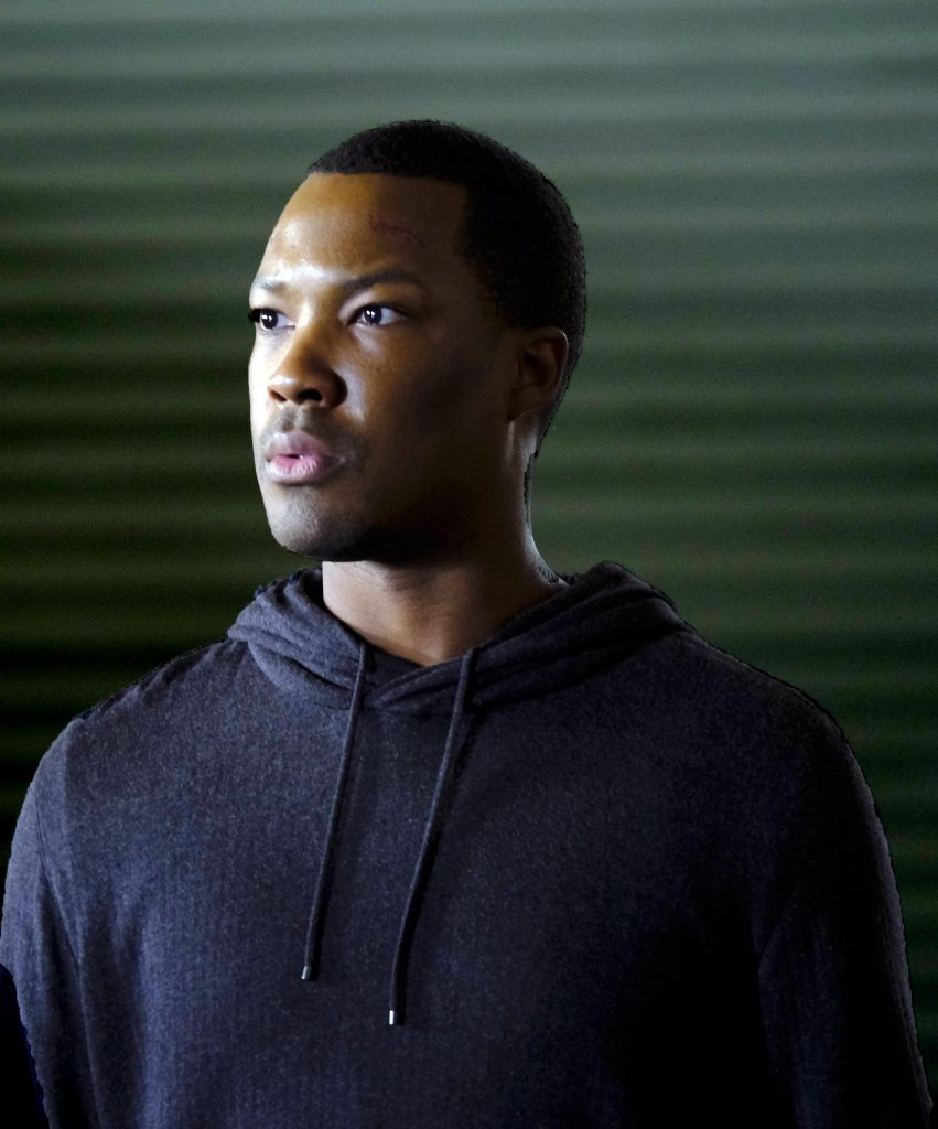 Corey Hawkins as Eric Carter in 24: Legacy Episode 6