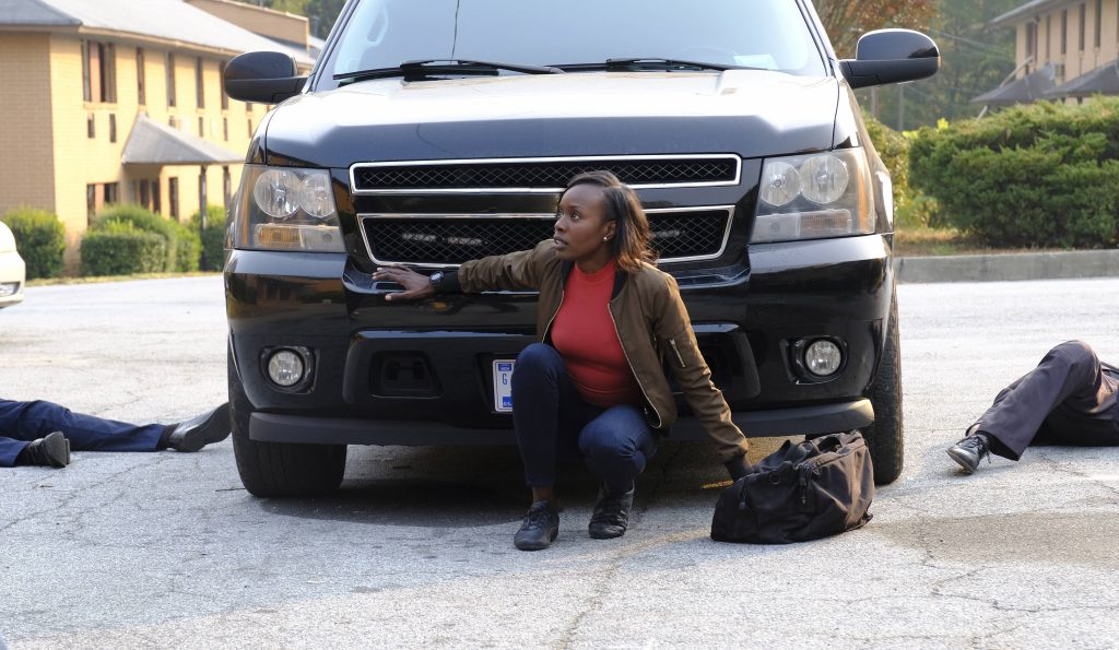 Nicole Carter (Anna Diop) is captured in 24: Legacy Episode 6