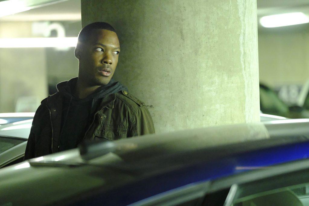 Corey Hawkins as Eric Carter in 24: Legacy Episode 7