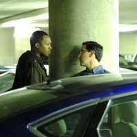 Corey Hawkins and Dan Bucatinsky in 24: Legacy Episode 7