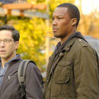 Dan Bucatinsky and Corey Hawkins in 24: Legacy Episode 7