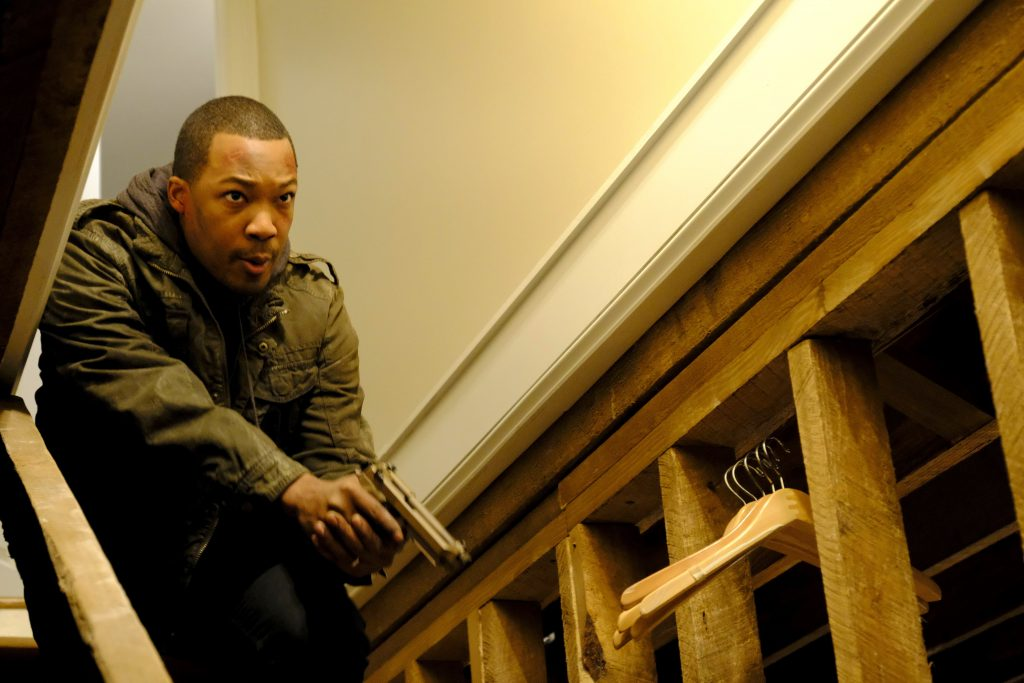 Corey Hawkins as Eric Carter in 24: Legacy Episode 9