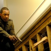 Corey Hawkins as Eric Carter in 24: Legacy Episode 9