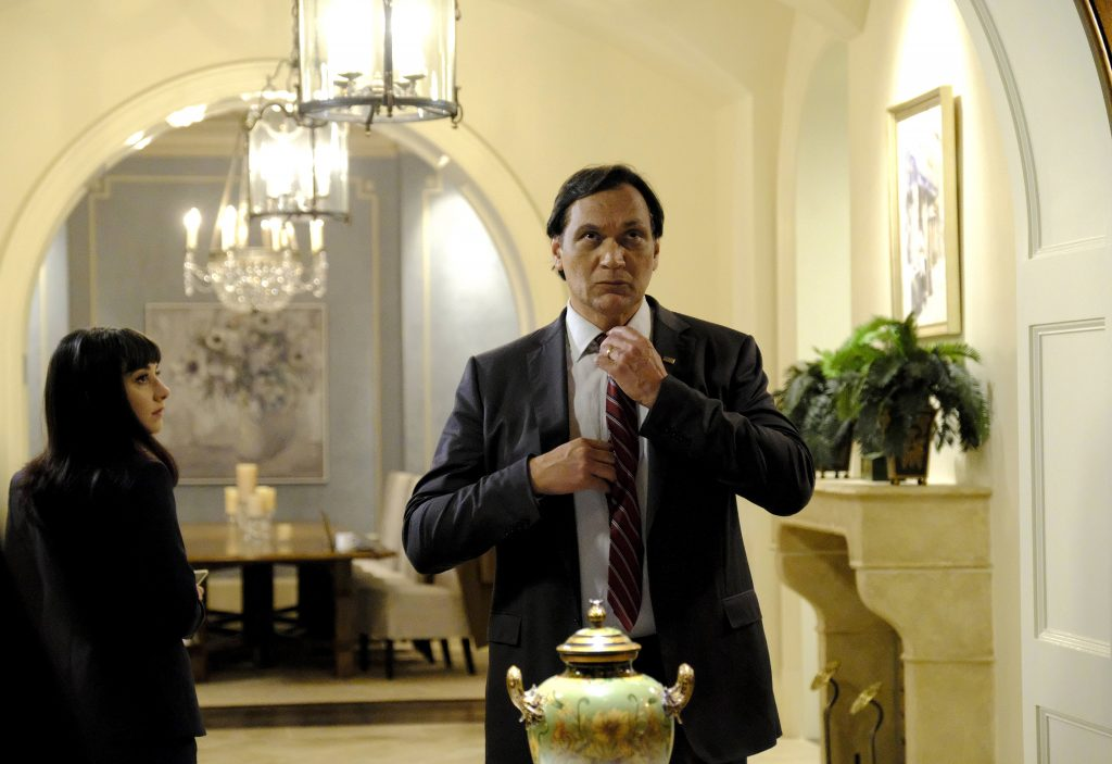 Jimmy Smits as John Donovan in 24: Legacy Episode 9