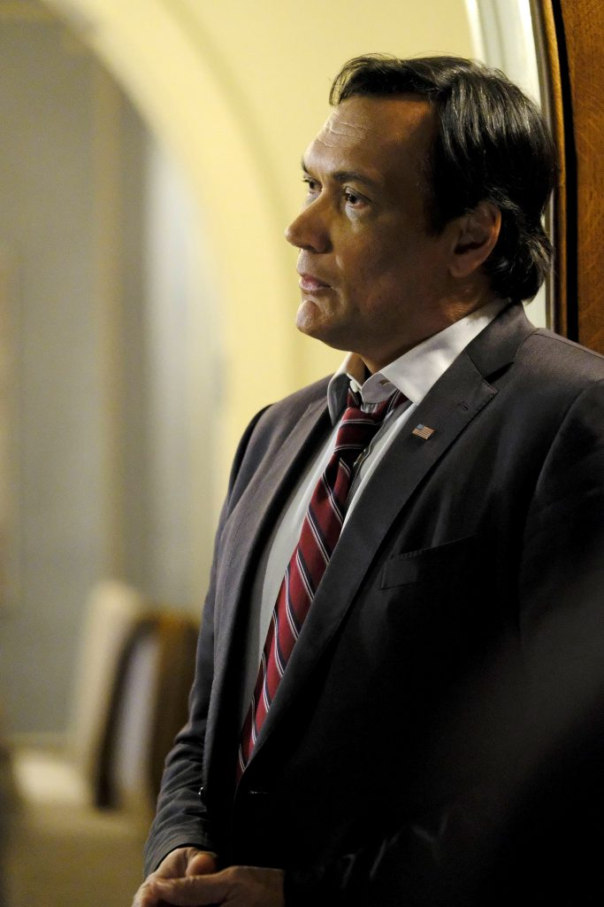 Jimmy Smits as John Donovan in 24: Legacy Episode 9