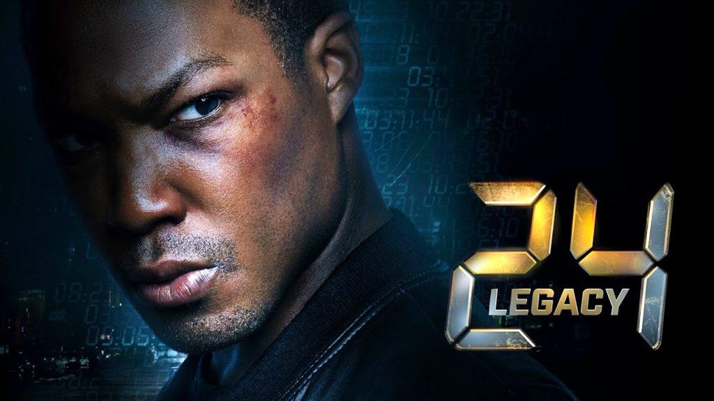 24: Legacy key art featuring Corey Hawkins