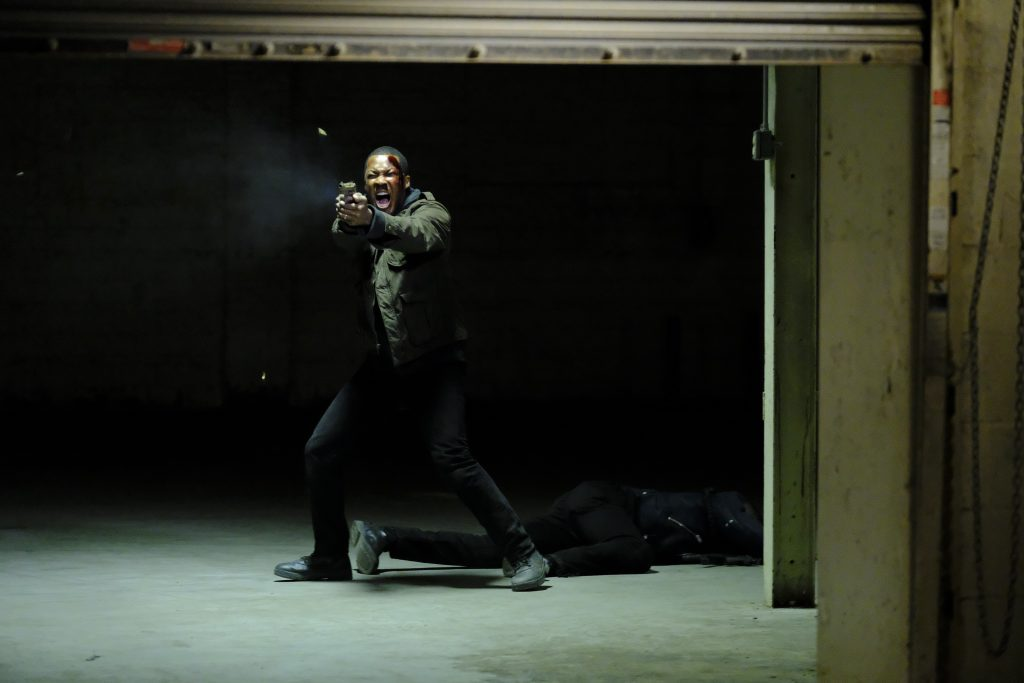 Corey Hawkins as Eric Carter in 24: Legacy Episode 8