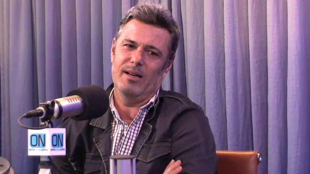 Carlos Bernard on Mario Lopez show