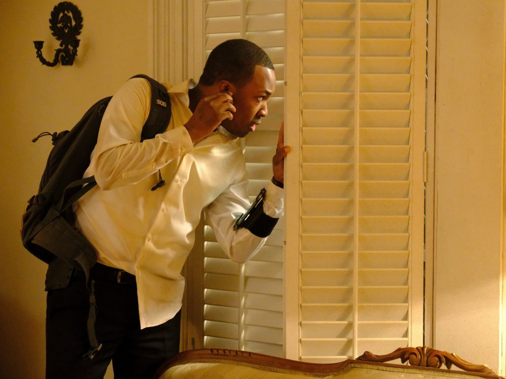 Corey Hawkins as Eric Carter in 24: Legacy Episode 11