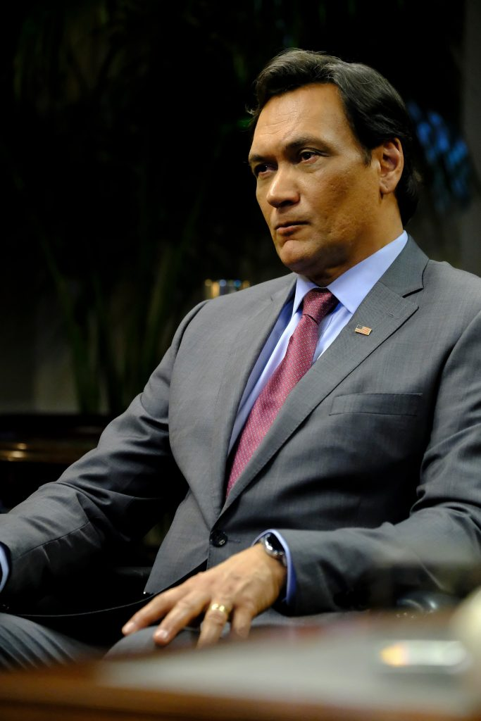 Jimmy Smits as John Donovan in 24: Legacy Episode 11
