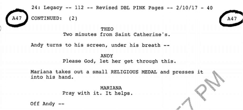 24: Legacy Finale Deleted Scene Script - Page 2