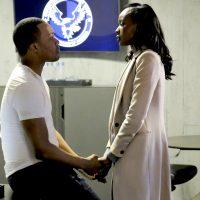 Eric and Nicole Carter embrace in CTU - 24: Legacy Season Finale