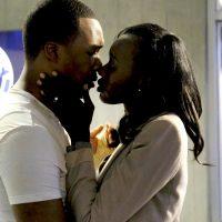 Eric and Nicole Carter kiss in CTU - 24: Legacy Season Finale
